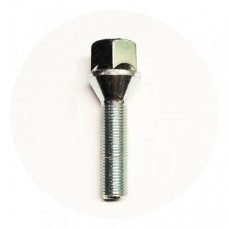 M12x1.25x46 HEX 19 mm Conus Wheel bolt