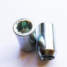 M12x1.5  HEX STAR. Diameter 20mm wheel tuning nut