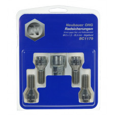 Bolts M12x1,5 26,4 HEX 17 mm / 19 mm Conus 60°