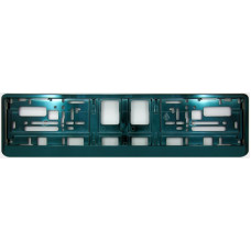 DARK GREEN METALIC Licence plate holder