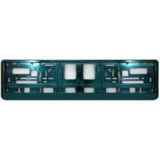 DARK GREEN METALIC Licence plate holder