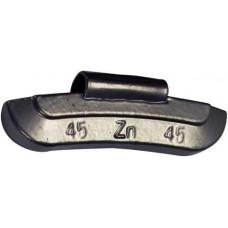 45g Steel wheel weights