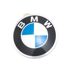 Steering wheel BMW LOGO sticker 45 mm (OEM 36131181082)