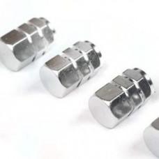 Tyre valve caps (Silver)