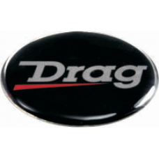 Drag 3D wheel cap sticker