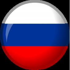 RUSSIA 3D wheel cap sticker