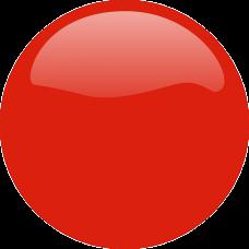 RED 3D SPORT wheel cap stickers