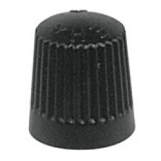 Valve cap plastic (black)