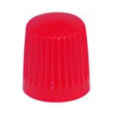 Valve cap plastic (red)