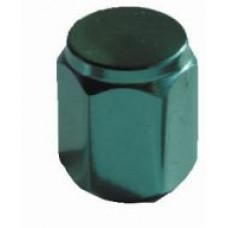 Valve cap metal (green)