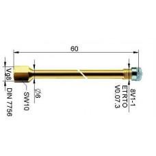 Valve extension metal 54 mm