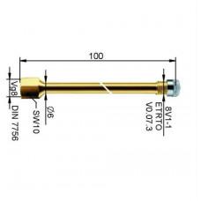 Valve extension metal 94 mm