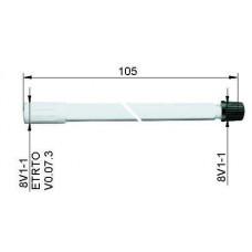 Valve extension plastic105 mm
